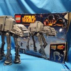 Juegos construcción - Lego: AT - AT STAR WARS DE LEGO REF. 75054 COMPLETO Y MONTADO + EXTRAS. Lote 155840177