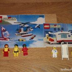 Juegos construcción - Lego: LEGO SYSTEM 6342 + 6666 - 5 MUÑECOS + LIBRO INSTRUCCIONES(COMPRA MINIMA 15 EUR) . Lote 156319874