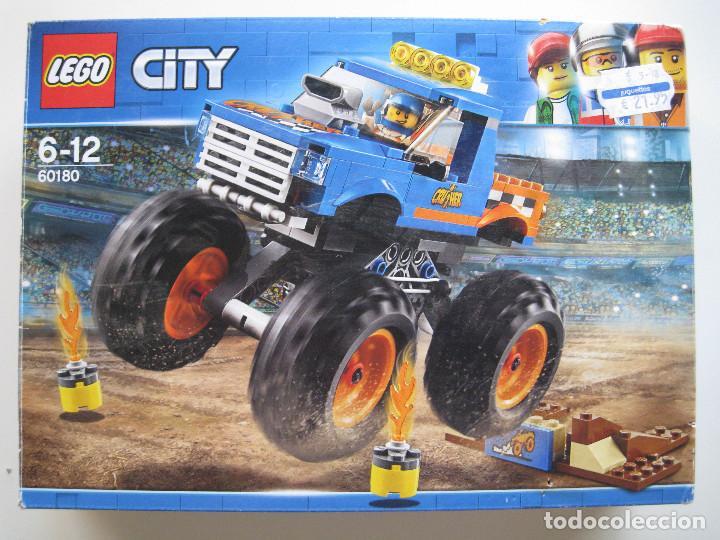 CAJA LEGO CITY 60180 - SÓLO CAJA - (Juguetes - Construcción - Lego)