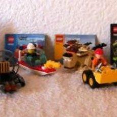 Juegos construcción - Lego: LEGO GRAN LOTE DE 10 PEQUEÑOS SETS. Lote 156640010