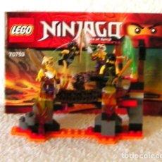 Juegos construcción - Lego: LEGO NINJAGO 70753 COMPLETO. Lote 156640378