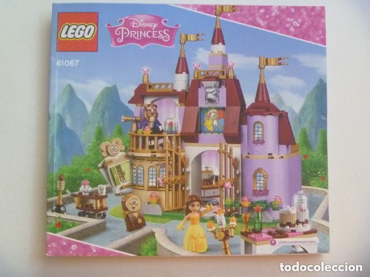 LEGO - DISNEY PRINCESS : LIBRITO DE INSTRUCCIONES PARA CONSTRUCCION DEL CASTILLO DE BELLA Y BESTIA (Juguetes - Construcción - Lego)