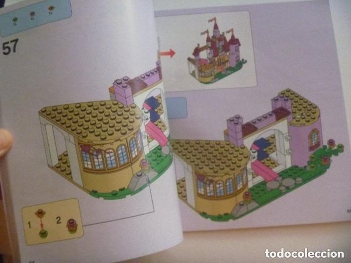 Juegos construcción - Lego: LEGO - DISNEY PRINCESS : LIBRITO DE INSTRUCCIONES PARA CONSTRUCCION DEL CASTILLO DE BELLA Y BESTIA - Foto 2 - 158342322