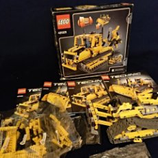 Juegos construcción - Lego: LEGO TECHNIC REF:42028 SUPER BULLDOZER. Lote 158639006