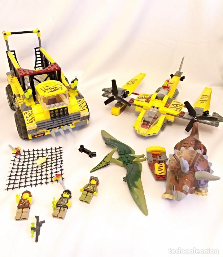 LEGO DINO REFERENCIAS 5885 5888,LA TRAMPA DEL TRICERATOPS (Juguetes - Construcción - Lego)