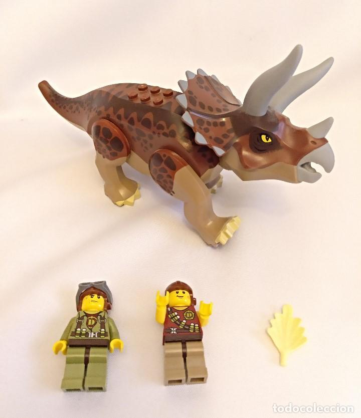 Juegos construcción - Lego: Lego Dino Referencias 5885 5888,la trampa del triceratops - Foto 4 - 158646570