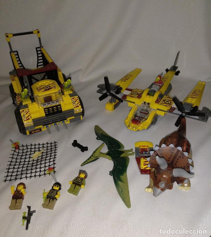 Juegos construcción - Lego: Lego Dino Referencias 5885 5888,la trampa del triceratops - Foto 6 - 158646570