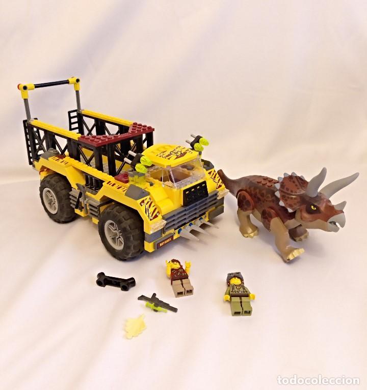 Juegos construcción - Lego: Lego Dino Referencias 5885 5888,la trampa del triceratops - Foto 8 - 158646570