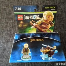 Juegos construcción - Lego: LEGO DIMENSIONS 71219 - LORD OF THE RINGS - LEGOLAS - NUEVO EN CAJA. Lote 158774390