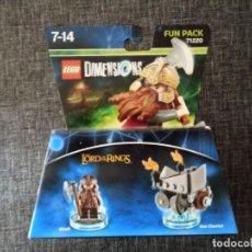 Juegos construcción - Lego: LEGO DIMENSIONS 71220 - LORD OF THE RINGS - NUEVO EN CAJA. Lote 158774434