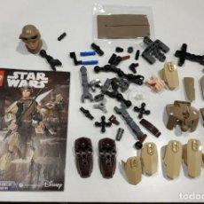 Juegos construcción - Lego: LOTE PIEZAS LEGO STAR WARS BUILDABLE FIGURES - INCOMPLETO. Lote 159441178