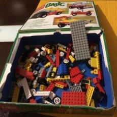 Juegos construcción - Lego: LEGO BASIC 715 VEHÍCULOS 1990 INCOMPLETO. Lote 160340330