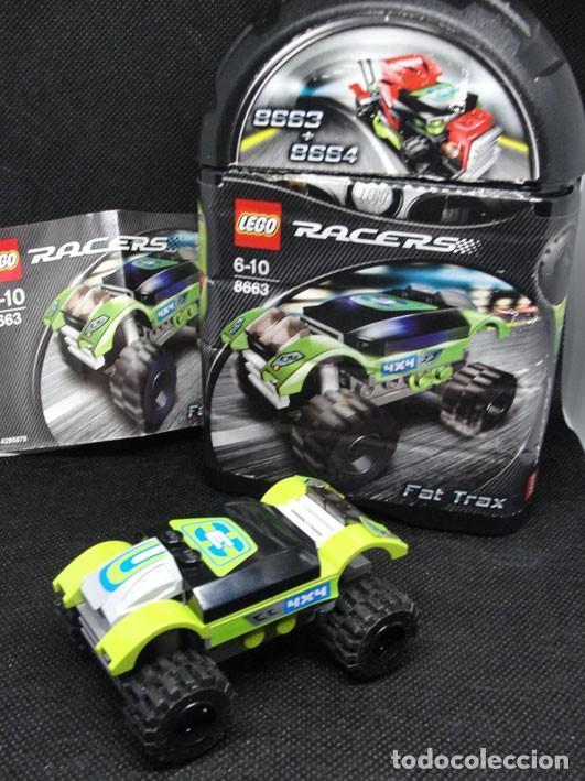 LEGO RACERS 8663 - COMPLETO - (Juguetes - Construcción - Lego)