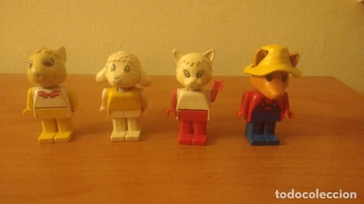 4 FIGURAS FABULAND LEGO AÑOS 80 (Juguetes - Construcción - Lego)
