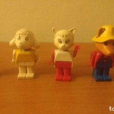 Juegos construcción - Lego: 4 FIGURAS FABULAND LEGO AÑOS 80. Lote 160626586
