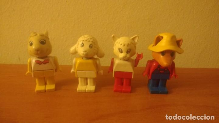 Juegos construcción - Lego: 4 FIGURAS FABULAND LEGO AÑOS 80 - Foto 4 - 160626586