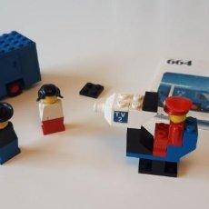 Juegos construcción - Lego: LEGO® 664, EQUIPO DE TV/ TV TEAM (1977).. Lote 160627406