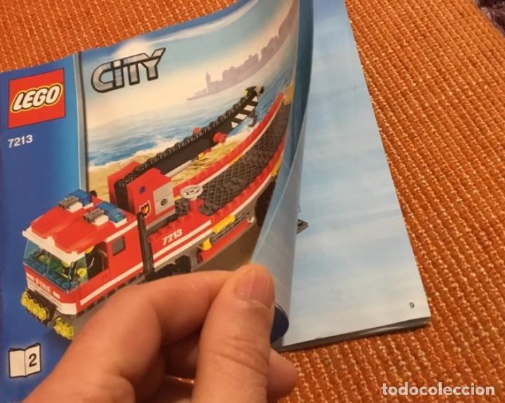 Juegos construcción - Lego: Lego city 7213 incompleto pero con catálogo extra - Foto 3 - 198913293