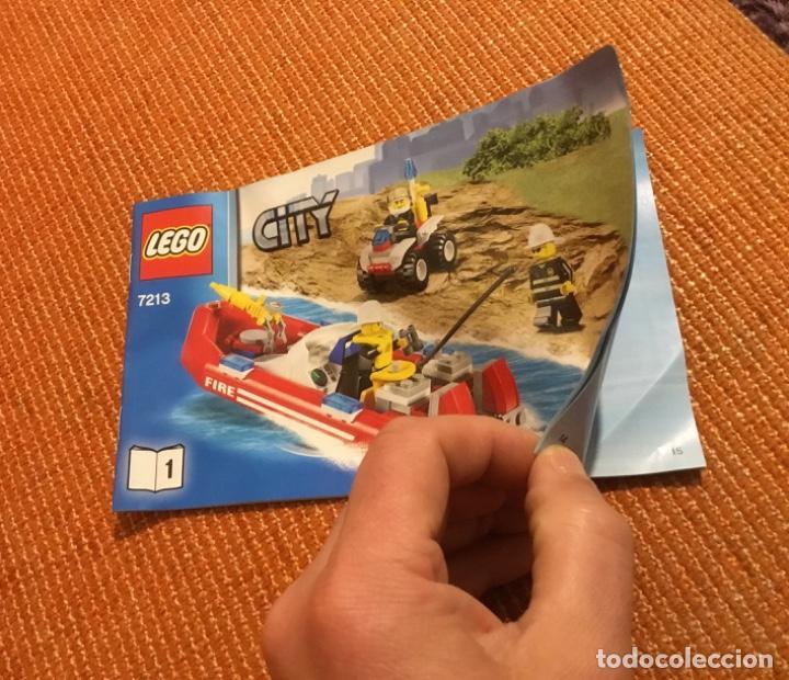 Juegos construcción - Lego: Lego city 7213 incompleto pero con catálogo extra - Foto 4 - 198913293