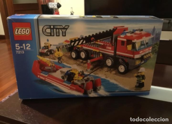 Juegos construcción - Lego: Lego city 7213 incompleto pero con catálogo extra - Foto 18 - 198913293