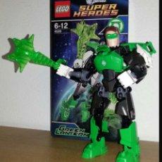 Juegos construcción - Lego: LEGO 4528. FIGURA GREEN LANTERN DC CÓMICS DE LEGO EN PERFECTAS CONDICIONES MONTADO UNA SOLA VEZ. Lote 160835153