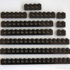 Juegos construcción - Lego: LOTE LEGO LADRILLOS TECHNIC 1X16 (3703) 1X12 (3895) 1X6 (3894) 1X4 (3701) 1X2 (3700). Lote 114825683