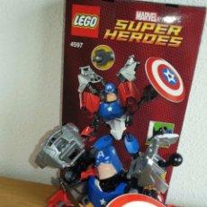 Juegos construcción - Lego: LEGO 4597. FIGURA MARVEL DEL CAPITÁN AMÉRICA DE LOS VENGADORES DE LEGO. Lote 160868770
