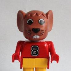 Juegos construcción - Lego: LEGO FABULAND FIGURA RATON (X596C02). SETS 3659, 3663,3668, 3683, 3719. VINTAGE. DESCATALOGADOS.. Lote 161944034