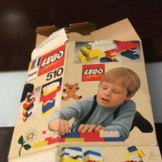 Juegos construcción - Lego: MUY ANTIGUO LEGO CAJA VACÍA. Lote 162971578