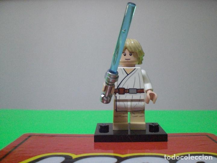 Minifigura Lego Star Wars Luke Skywalker Buy Building And