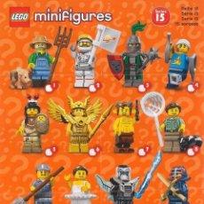 Juegos construcción - Lego: LEGO 71011 MINIFIGURAS SERIE 15 - COMPLETA. Lote 163399122