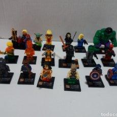 Juegos construcción - Lego: LOTE 20 MINIFIGURAS WORLD OF WARCRAFT COMPATIBLES LEGO. Lote 163542849