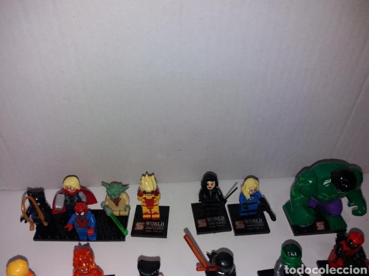 Juegos construcción - Lego: Lote 20 minifiguras World of warcraft compatibles lego - Foto 2 - 163542849