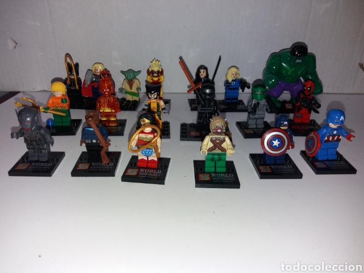 Juegos construcción - Lego: Lote 20 minifiguras World of warcraft compatibles lego - Foto 4 - 163542849