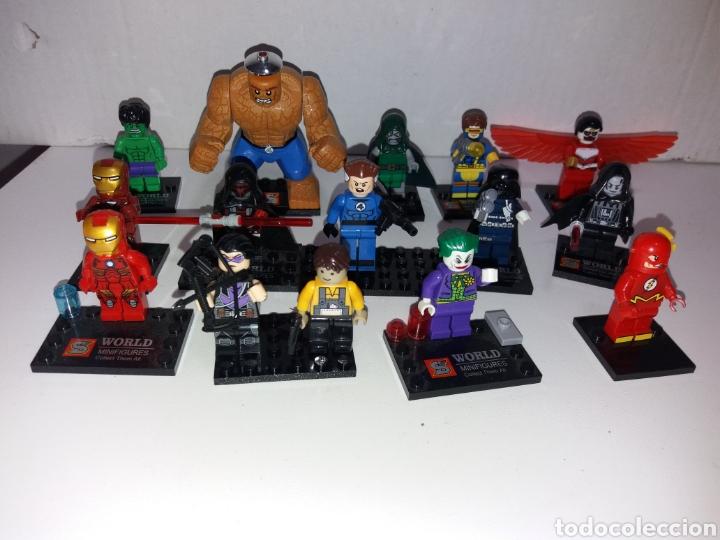 Juegos construcción - Lego: Lote 20 minifiguras World of warcraft compatibles con lego - Foto 2 - 163543658