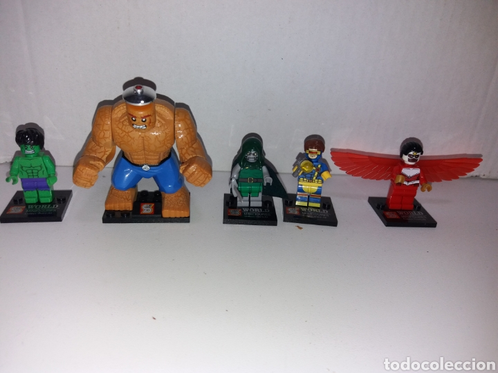 Juegos construcción - Lego: Lote 20 minifiguras World of warcraft compatibles con lego - Foto 4 - 163543658