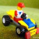 Juegos construcción - Lego: COMPATIBLE CON LEGO COCHE CON PILOTO.. Lote 164588458