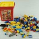 Juegos construcción - Lego: LOTE DE PIEZAS DE LEGO Y TENTE JUEGO DE CONSTRUCCIÓN. Lote 164672662