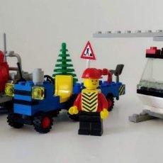 Juegos construcción - Lego: LOTE LEGO LEGOLAND REFERENCIAS 645, 6647 Y 6841. HELICOPTERO, TRACTOR, VEHICULO LUNAR. Lote 165073286
