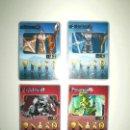 Juegos construcción - Lego: 4 CARTAS MEGA BLOKS PLASMA DRAGON . Lote 165544878