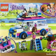 Juegos construcción - Lego: LEGO - FRIENDS - VEHÍCULO DE OPERACIONES DE OLIVIA. Lote 166722030