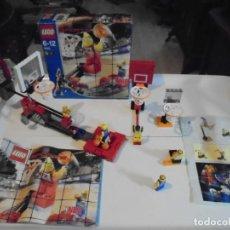 Juegos construcción - Lego: LEGO 3429 SPORTS NBA COMPLETO E INCLUYO RESTOS DE OTRAS REFERENCIAS RELACIONADAS VER FOTOS. Lote 166791764