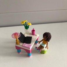 Juegos construcción - Lego: SET DE LEGO FRIENDS, CHICA Y ESCRITORIO. COMPLETO. Lote 167018240