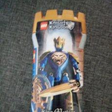 Juegos construcción - Lego: LEGO 8796 KNIGHTS KINGDOM KING MATHIAS. NUEVO. Lote 167203264