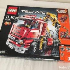 Juegos construcción - Lego: CAMIÓN GRÚA LEGO TECHNIC 8258 PRECINTADO. Lote 167723792