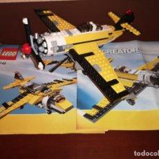 Juegos construcción - Lego: LEGO CREATOR 6745 -100% COMPLETO Y INSTRUCCIONES,42 CM STAR WARS-PLAYMOVIL-TENTE-MAQUETA-AVION. Lote 168009136