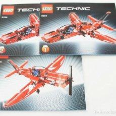 Juegos construcción - Lego: LEGO TECHNIC MANUAL DE INSTRUCCIONES 9394 JET PLANE AVION A REACCION. Lote 168345860