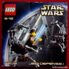 Juegos construcción - Lego: LEGO. STAR WARS. REF: 7203. JEDI DEFENSE I. AÑO: 2002. NUEVO EN SU CAJA SIN ABRIR. . Lote 168383156