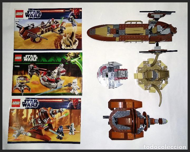 LEGO STAR WARS - 9496 - 75000 - 9491 - COMPLETOS SIN MINIFIGURAS Y SUS ACCESORIOS. ( NO JUGADOS ). (Juguetes - Construcción - Lego)