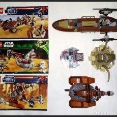 Juegos construcción - Lego: LEGO STAR WARS - 9496 - 75000 - 9491 - COMPLETOS SIN MINIFIGURAS Y SUS ACCESORIOS. ( NO JUGADOS ).. Lote 168851964